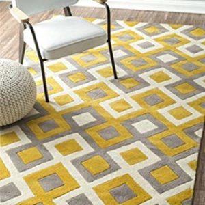 alfombra motivos geométricos