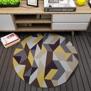 alfombra barata redonda